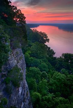 Even after seeing the Nile and the Amazon, the Missouri is the world's most beautiful river.