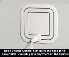 This is so cool! It's an electric outlet