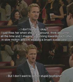 I <3 Barney Stinson