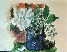 "Pablo Picasso - ""Flowers"". 1920"