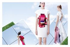 Spring 2015 Fashion Ad Campaigns - JOSEPHINE LE TUTOR AND ELISABETH ERM FOR CAROLINA HERRERA