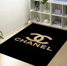 Gold Channel LOgo Blanket
