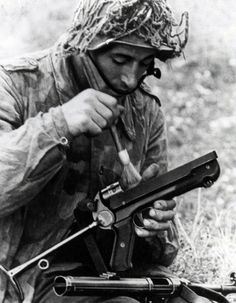 The MP40 SMG was an excellent weapon but it required simple but constant cleaning. Otherwise, it never failed. The 9mm cartridge wasn't exactly what the doctor ordered but controlled bursts did the job fairly well.