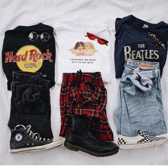 1 2 or 1 2 or Edgy Outfits vscogirloutfits Retro Outfits, Hipster Outfits, Cute Casual Outfits, Teen Fashion Outfits, Edgy Outfits, Grunge Outfits, 90s Fashion, Outfits For Teens, Korean Fashion
