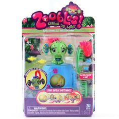 Zoobles Spring To Life Barnabus #207 by Zoobles. $0.01. * Zoobles! Spring to Life!     * Press Head for Blinking Action!