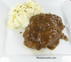 Amish Salisbury Steak - delicious home cooked recipe
