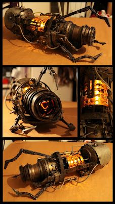 Steampunk portal gun! ::geek glee::