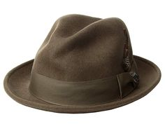 25b8cd17fca15 Stacy Adams Fedora with Matching Trim
