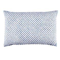 John Robshaw Textiles - Rabari Light Indigo - all pillows - Pillows & Inserts