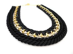 statement necklaces crochet - Buscar con Google