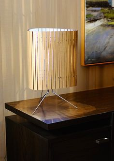 Kerf Leyland Table Lamp - Graypants - Lime Lace