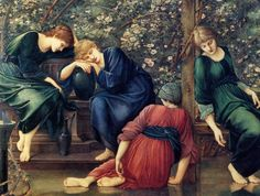 Edward Coley Burne-Jones - Briar Rose ( Sleeping Beauty )