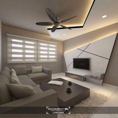 House Ceiling Design, Ceiling Design Living Room, Bedroom False Ceiling Design, Tv Wall Design, Bedroom Bed Design, Home Living Room, Living Room Decor, Living Room Tv Unit Designs, Home Interior Design