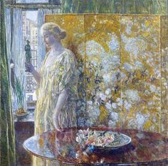 ART. Only freedom........Frederick Childe Hassam