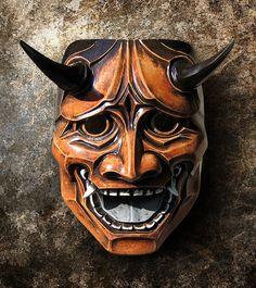 Hannya Mask 112  Japanese Noh Style Inspired by TheDarkMask, $190.00