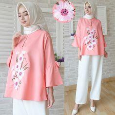 Baju Atasan Wanita Ravika Blouse - Model Busana Kerja