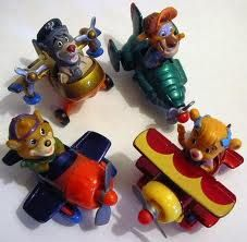 tailspin happy meal toys