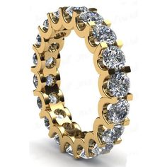 Diamantring Memory 4.00 Karat aus 585er Gelbgold #diamantring #memory #gelbgold #juwelier #abt #dortmund #diamantschmuck