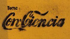 Tome Con-ciencia. Calle Huancavelica con Cailloma, Centro de Lima. Perú. #lettering #stencil #handmade