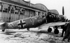 Ostermann and his Bf 109