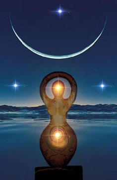 Moon and Earth Goddesses