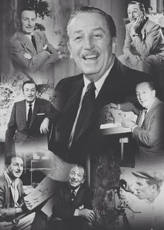 Walter Elias Disney ~ Though it was all started by a mouse, it was the man behind it all that kept it going! Disney Parks, Walt Disney World, Disney Pixar, Disney Couples, Disney Theme, Disney Love, Disney Magic, Disney Stuff, Bambi