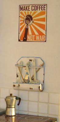 Carolyn's Little Kitchen: Make Coffee not War