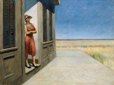 Edward Hopper (July 22, 1882 - May 15, 1967), South Carolina Morning, 1955