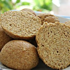 Low carb & Keto flaxseed rolls.