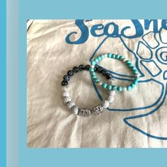 "SeaShell Jewelry auf Instagram: ""During my spring offer for bracelets these two amazing ones got ready for a good friend! 😍 She also received it and loved it ❤️. Thank you…"" Handmade Items, Handmade Jewelry, Unique Jewelry, Ring Necklace, Earrings, Seashell Jewelry, My Spring, Facebook Instagram, Sea Shells"