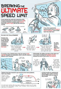 Beating the Speed of Light and TIME TRAVELING (awesome)