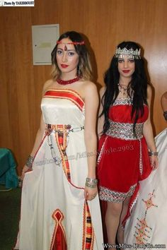 Pin by Trésor Kabyle on robe kabyle Arabian Costume, Arabic Dress, Most Beautiful Dresses, Embroidery Dress, Blouse Styles, Traditional Dresses, Sequin Dress, African Fashion, Bridal Dresses