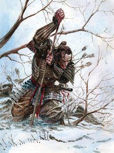 Guerrero Ninja, Samurai Quotes, Martial Arts Quotes, Character Art, Character Design, Samurai Artwork, Japanese Warrior, Samurai Tattoo, Demon Tattoo