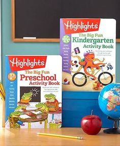 This Highlights Big Fun Activity Book gives your little learner a jump-start on the Common Core curriculum. It contains more than 200 pages of age-appropriate g