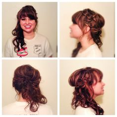 Another side swept updo #hair # hairstyle