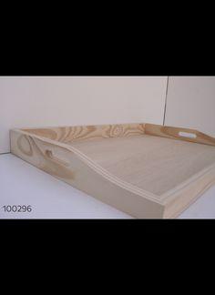BANDEJA DE PINO ARRIMO GRANDE 60 X 40 CM  Cod. 100296