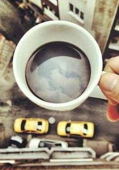 Clouds in my coffee... | #Coffee