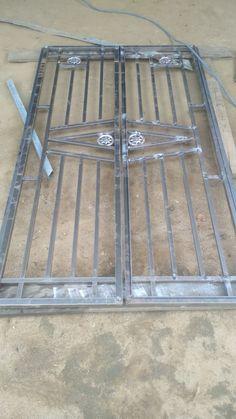 Steel Grill Design, Steel Railing Design, Grill Gate Design, Window Grill Design Modern, House Window Design, Front Gate Design, Main Gate Design, Door Gate Design, Interior Stair Railing