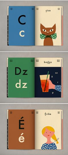 hungarian alphabet book by anna kövecses... Would be really cute for my niece #mydreamshelfsweeps