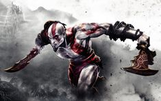 Watch this God of War Animated Movie : The Last War HD (fan made).Brilliantly made in HD and based on the Best Selling Video Game God of War. Kratos God Of War, Wallpaper Dios, Animal Wallpaper, Wallpaper Desktop, Computer Wallpaper, 4k Wallpapers For Pc, Hd Desktop, Joker Wallpapers, Iphone Wallpapers