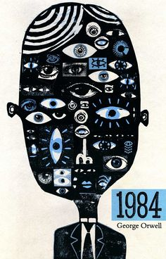 1984 - George Orwell Bu vintage cover da oldukça başarılı.