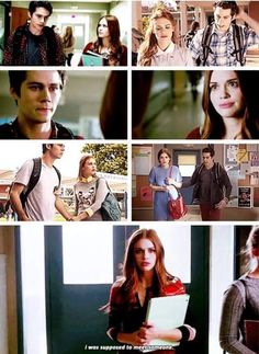 teen wolf, dylan o'brien, and holland roden afbeelding
