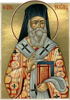 """""""Do not think that you have a right to complain when your prayers are not answered. God fulfils your desires in a manner that you do not know. Nektarios the Wonderworker Catholic Saints, Roman Catholic, Saint Quotes, Chur, Orthodox Christianity, Heaven Sent, Keep The Faith, Orthodox Icons, Christian Faith"""