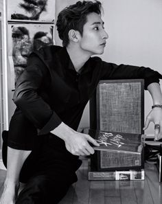 Lee Soo Hyuk - Marie Claire Magazine December Issue '15