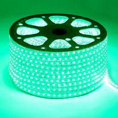 SMD5050 High Voltage 110&220V Color Change LED Strips, Waterproof IP67, 60LEDs Per Meter, 50&100 Meter (164&328ft) Per Reel By Sale