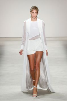 #NYFW: Karigam Spring/Summer 2016. Click through to see more http://nyfw.com/karigam