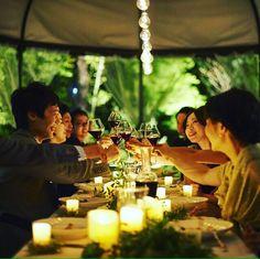 _  #プライベート感 あふれる #リラックス した雰囲気の中で #大切なゲスト と おいしい#料理 を 囲んで心温まる一日を。  #wedding#結婚式#結婚式場#小山#恵比寿#メゾンプルミエール #メゾンエルミタージュ #maisonharmitage #プレ花嫁#先輩花嫁#relax #乾杯#赤ワイン#ワイン#おしゃれ#写真#photo #photography #キャンドル#instagood #instadaily #followme #follow4follow