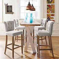 Tristan Bar Stool---only $179 each.  I purchased these last year and they are so nice.  I expected to have to spend $450 each and realize those are overpriced.  These are really good quality.