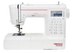 La H50E della Necchi è una macchina per cucire con impostazione e controllo elettronico di alta precisione con 404 punti e 2 alfabeti. Soddisfa sia esigenze di cucito sartoriale, creativo, patchwork e quilting. Sewing, Alphabet, Dressmaking, Couture, Stitching, Sew, Costura, Needlework