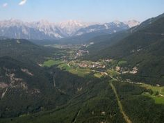 alpine-scenery-aerial-view - Flying into Innsbruck